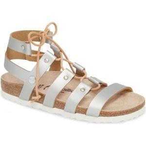 NEW Papillio Birkenstock Cleo Gladiator Sandal 37